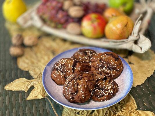 Κρητικός Φούρνος Γεύσεις Μουστοκούλουρα με σοκολάτα